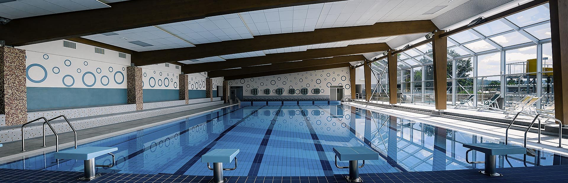 Indoor pool - panorama